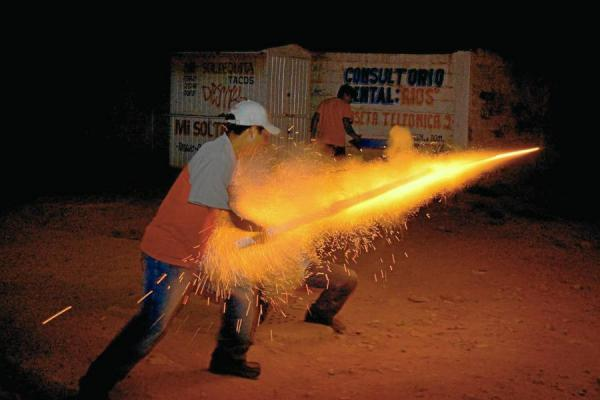 Tres casos de quemados por pólvora en Caldas