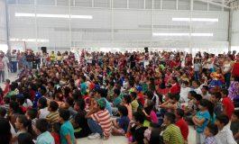 Alcaldía del Líbano celebró el día de los niños