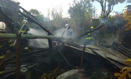 Se Incendió casa en el Líbano Tolima