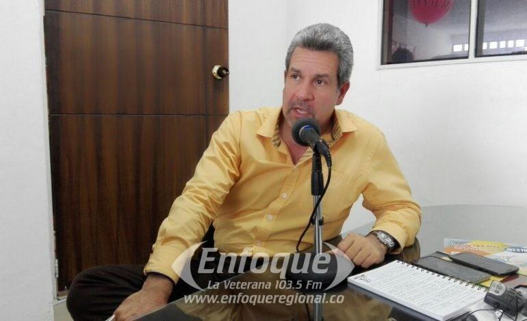 Especial Noticiero Enfoque: Alcalde del Líbano German Castellanos, responde  las diferentes denuncias y rumores que le expresan los oyentes de la Veterana al Gerente Afranio Franco
