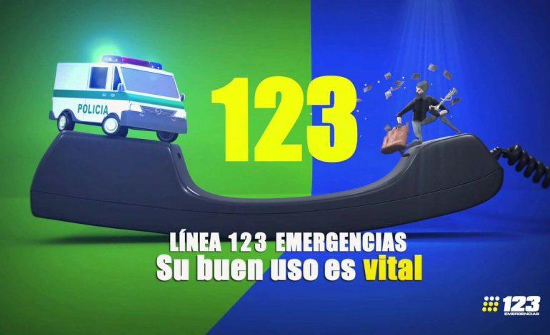 La línea de emergencia puede salvar tu vida y la de los demás