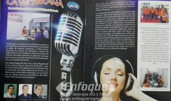 La Revista Senderos exalta a La Emisora La Veterana 103'5 F.M   como el mejor medio de comunicación del  norte del Tolima