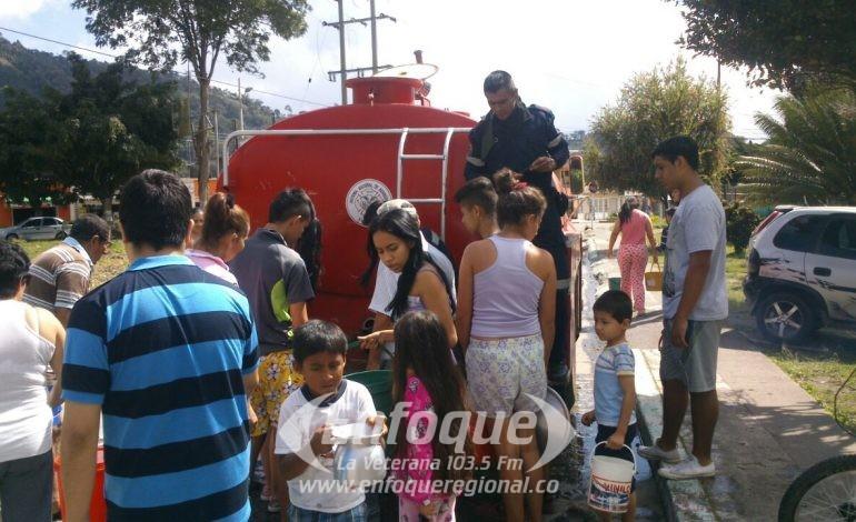 ¿Por qué no huboservicio de acueducto en algunos barrios del Líbano?