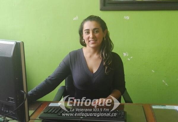 Julieth García Moreno nueva personera encargada del Líbano