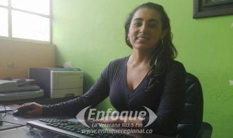 Personera encargada del Líbanohabla sobre el trabajo realizado en el cargo