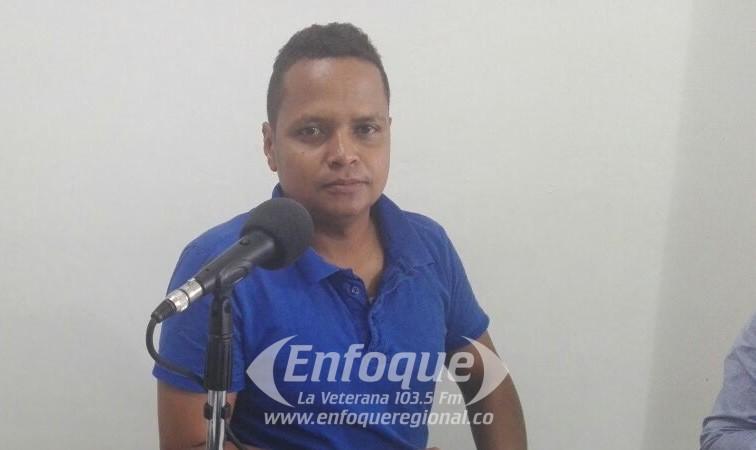 Wolfang Sanchez recibió reconocimiento de Indeportes Tolima