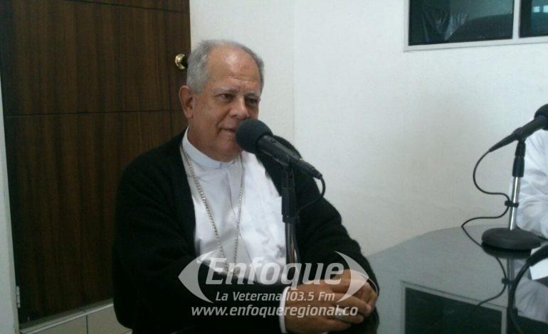 EXCLUSIVO: Obispo de la Diócesis Líbano-Honda se pronuncia sobre la pensión de la excongresista Hilda Martínez