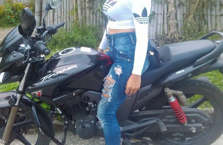 Se robaron esta motocicleta en El Líbano