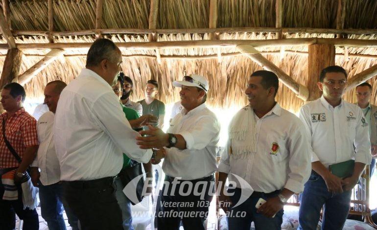 GOBERNADOR DEL TOLIMA EN VISITA POR EL NORTE DEL TOLIMA