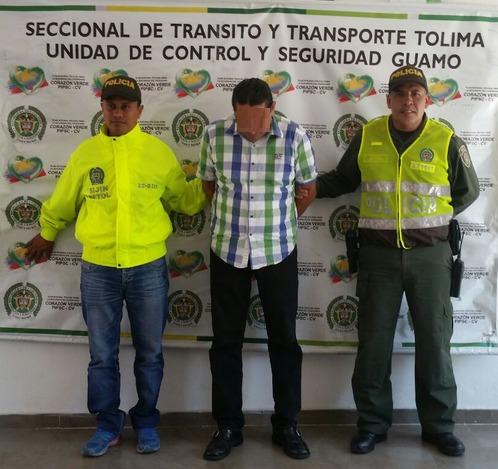 ACTIVIDAD POLICIAL EN EL DEPARTAMENTO DEL TOLIMA