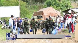Culminando los Desplazamientos de la FARC