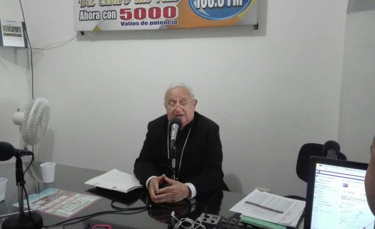 Entrevista Monseñor Ricardo Morales