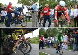 Insólito, Vuelta ciclística del Tolima sin permiso