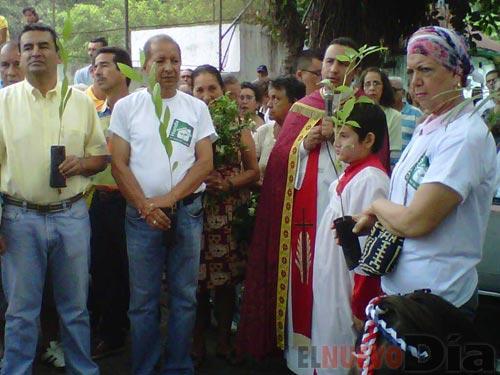 Siembra de Arboles en Domingo de Ramos