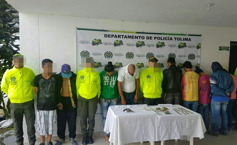 """DESARTICULADA BANDA DELINCUENCIAL """"LOS EXCONVICTOS."""""""