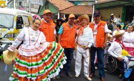 Noticiero Enfoque Regional en el 45 festival folclórico colombaiano