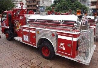 Bomberos de Santa Isabel sin elementos parra atender una emergencia.