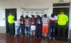 """""""Los del Puente"""" capturados en Saldaña"""