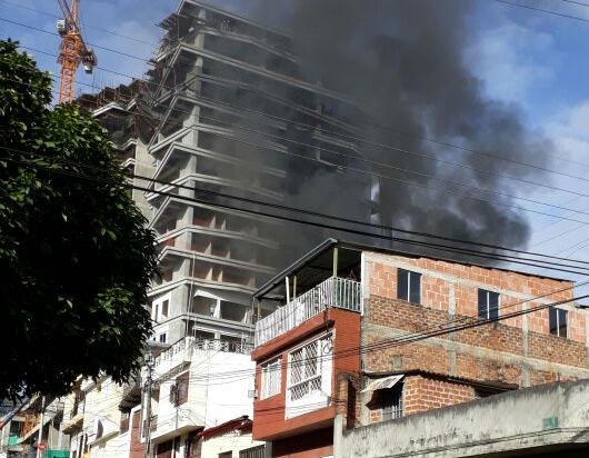 Incendio consumió un apartamento en la calle 29 con carrera sexta en ibagué
