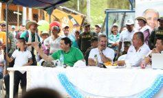 San Fernando, corregimiento del Líbano Tolima recibió al Gobernador del Tolima