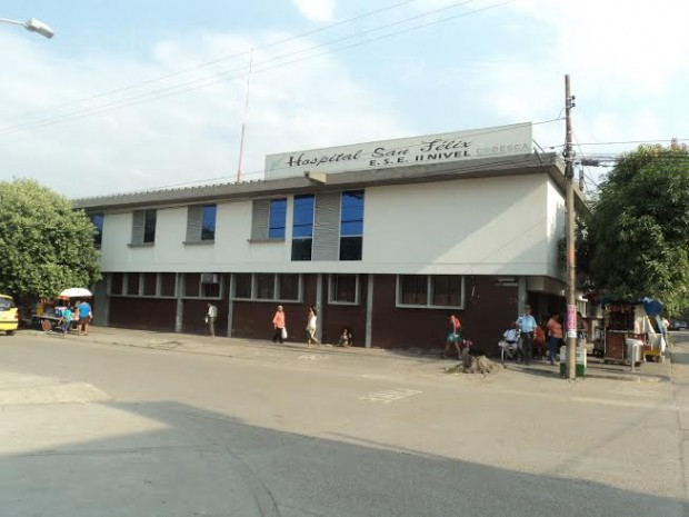 Aumenta crisis en hospital San Felix de la Dorada mas de 23 mil millones de pesos le adeudan EPS
