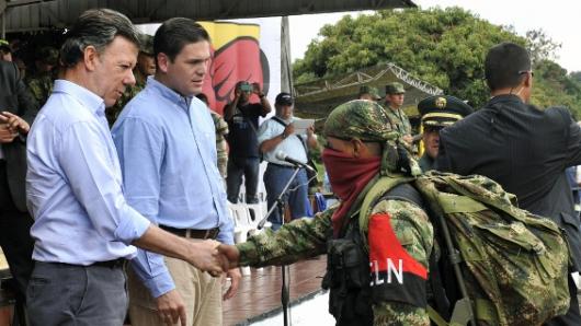 EL presidente anunció  que el sumo pontífice se llevará una sorpresa debido a que han llegado a un acuerdo para declarar un cese al fuego y de hostilidades bilateral con el Eln