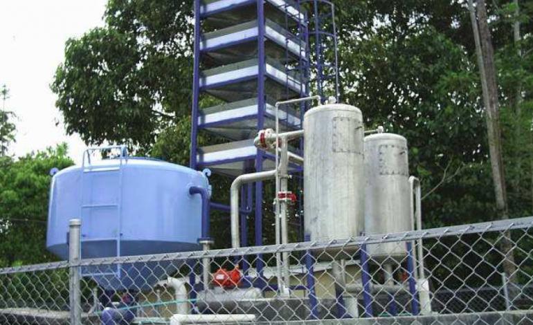 Alcaldía de  Puerto de Boyacá pone en funcionamiento la planta de agua