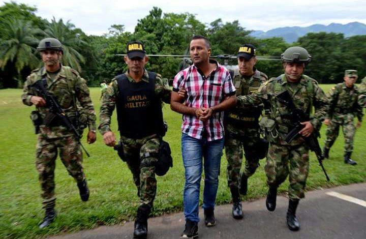 Capturado Alias Canuto, presunto integrante de disidentes de las FARC