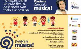 Este domingo habrá concierto gratuito para celebrar la música