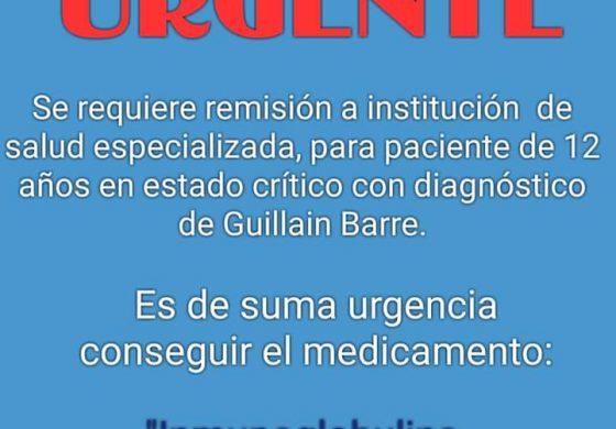Urgente, niño de Murillo necesita de su ayuda