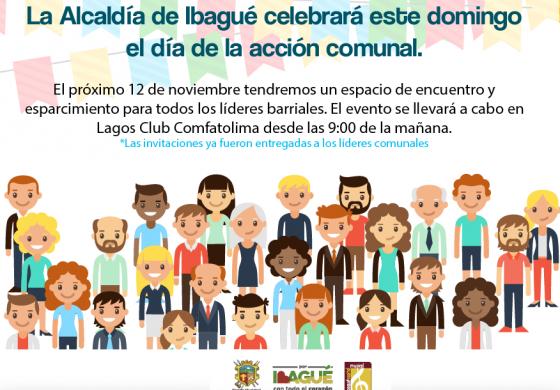 Este domingo se celebrará el día nacional de la acción comunal