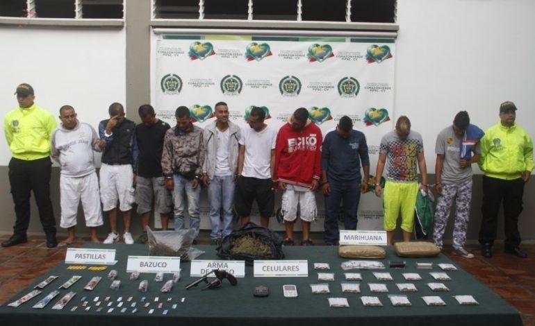 Desarticulada la banda Los Indios, señalada de tráfico de estupefacientes en Huila