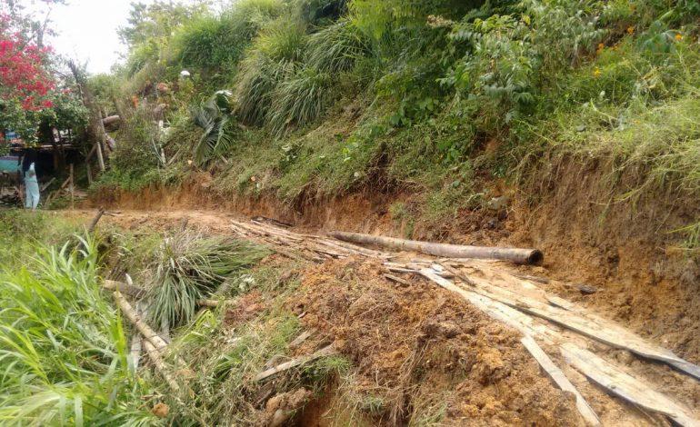 Emergencias por fuertes lluvias en zona rural de Ibagué